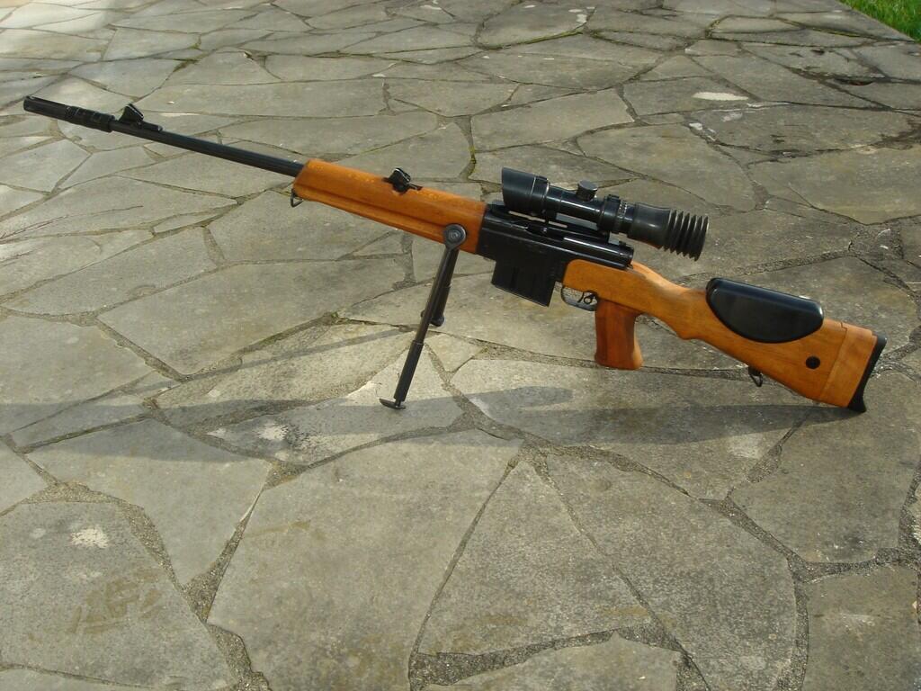 Snajperska puška FRF1 koju su koristili legionari u ovoj akciji