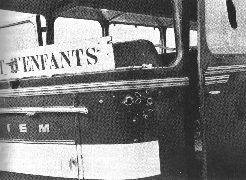 Snimak otetog autobusa nakon akcije