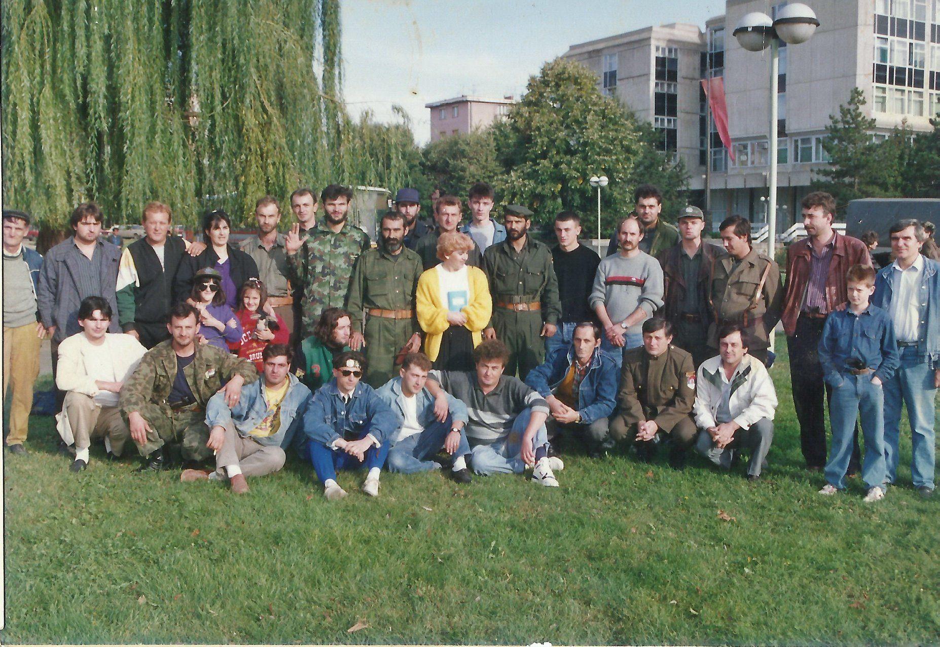 Dobrovoljci 1991.